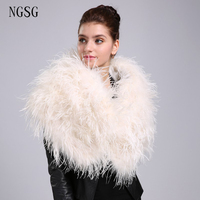 Fluffy Pashmina Women S Scarf Beige Plush Winter Popular Decoration 120 Cm Length Support Wholesale Retail