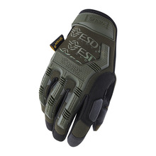ESDY Hard Knuckle Tactical Gloves Army Military Combat Airsoft Fight Climbing Shooting Paintball Full Finger Gloves M L XL