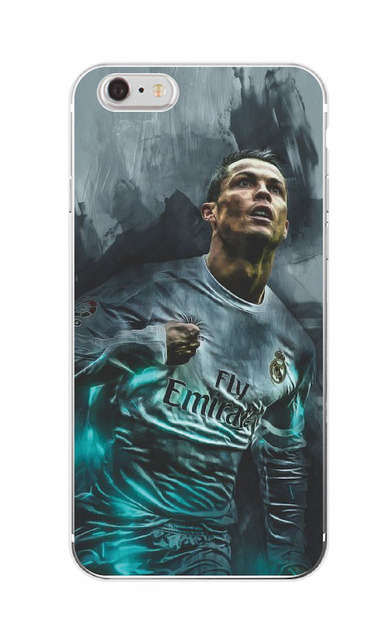 Madrid Cristiano Ronaldo CR7 Soft Printed TPU Phone Case Cover Skin Coque For iPhone 7Plus 7 6 6S 5 5S SE 5C 4 4S SAMSUNG