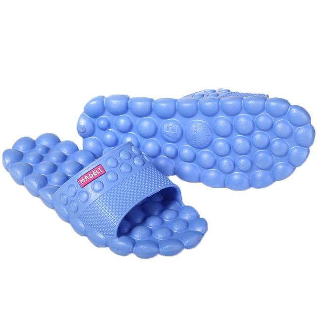 2017 New Summer Women Massage Slippers Ball EVA Flat Non-Slip Sandals Slimming Home Flip Flops Casual Girls Slides Beach Shoes