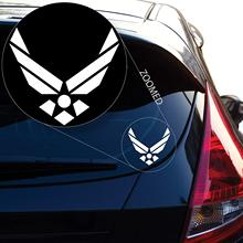Graphics Air Force Decal Sticker for Car Window, Laptop, Motorcycle, Walls, Mirror and More. # 561 (4 borderlands who decal sticker for car window laptop motorcycle walls mirror and more car sticker car door protector