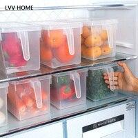 Sealed Crisper Refrigerator Food Storage Box Large Capacity Kitchen Storage Tools Creative Food Storage Box