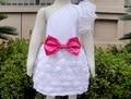 Девочка крещения платья девушки осеннее платье ребенка детская одежда KP-EDS05