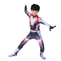 Film Avengers Endgame Quantum kostüm Kinder Erwachsene Avengers Halloween kostüm für Männer Jungen Superhelden zentai Overalls