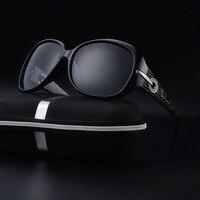 Delle donne Occhiali Da Sole Polarizzati Occhiali Outdoor Sport Correre Guida Grandi Occhiali Cornice Accogliente Pesca Eyewear Prevenire UV Nero Rosso