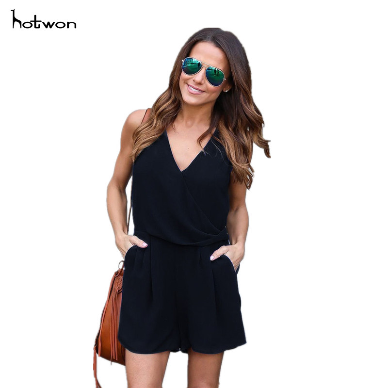 New Hot Sale Womens Holiday Playsuit Ladies Summer Jumpsuit Romper Bodycon Clubwear Trousers