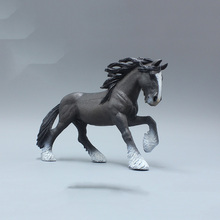 15.5CM Gifts Displays Shire Horse Models Famous Figures Toys