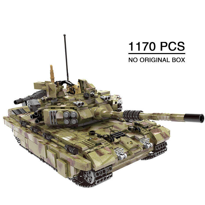 1000+pcs Military Tank Building Blocks Army soldier weapon bricks children Toys Simulated War Machine gift Compatible