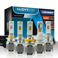 Nighteye H4 HB2 9003 Auto Car Led Headlights H7 LED H8 H9 H11 HB3 9005 H15