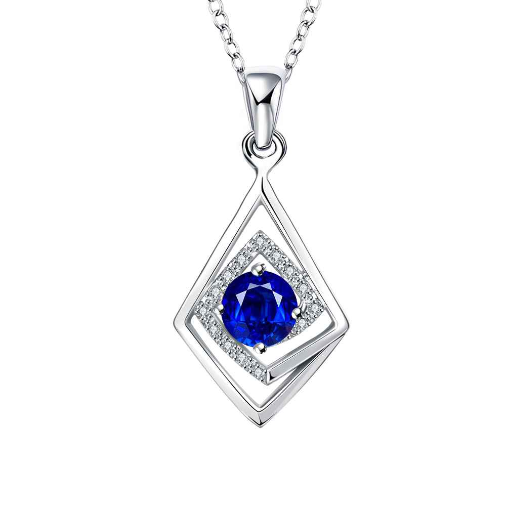 Free Shipping 2015 New silver-plated pendants Geometric cryss