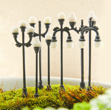 1 stks/set Mini Leuke Micro landschap decoratie lamp model ornamenten creatieve ornamenten RC scène props simulatie Sim City straat(China)