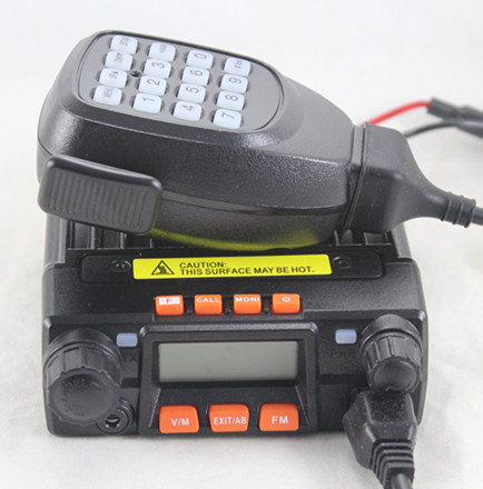 Qyt kt8900 25 w de alta potência pequeno airfree mini-9800 veículo móvel rádio em dois sentidos walkie talkie