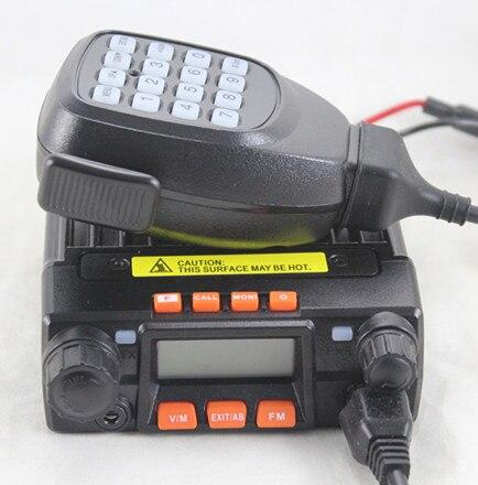imágenes para Qyt kt8900 25 w de alta potencia pequeña airfree mini-9800 vehículo móvil de radio de dos vías walkie talkie