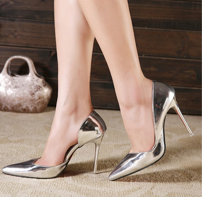 Popular Gold High Heel-Buy Cheap Gold High Heel lots from China ...