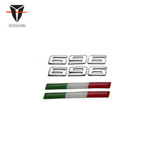 KODASKIN Motorcycle Universal 3D Raise Emblem Sticker Decal for Italy Ducati Monster 696
