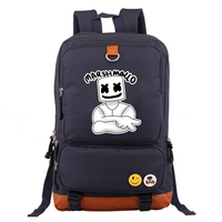 New DJ Marshmello Men boys Backpack Bag Students School Travel Casual Backpack Laptop Bag