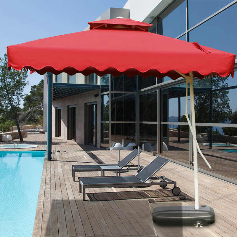 Outdoor umbrella balcony umbrella balcony umbrella folding umbrella