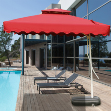 Outdoor umbrella balcony folding