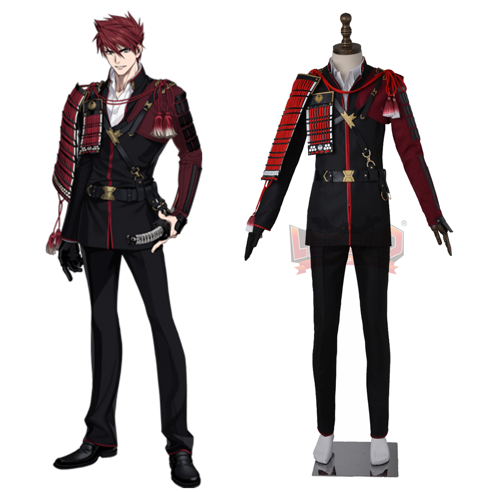 Cosplay legend Touken Ranbu Online Ookanehira Cosplay adult costume full set all size custom made стоимость
