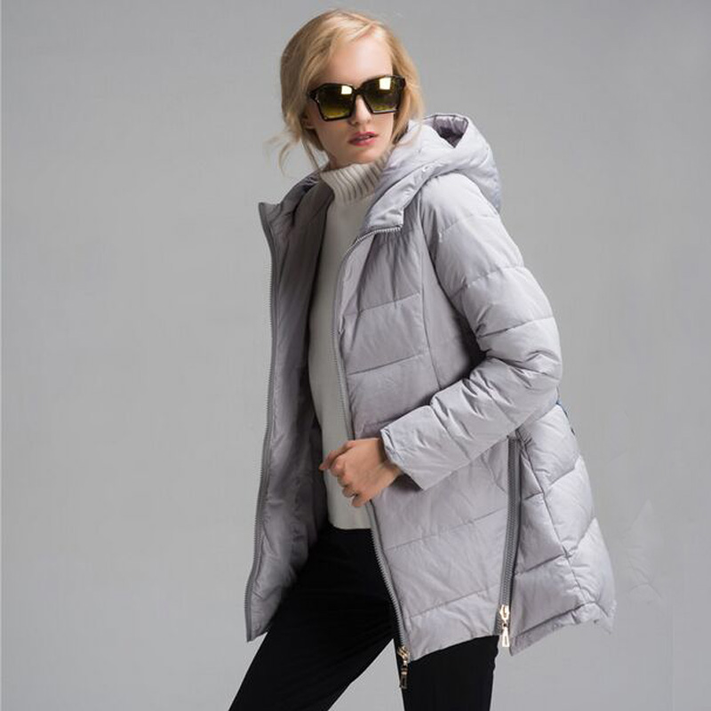 ФОТО  2016 Winter Jacket Women New Fashion Women Parka Female Hooded Coat Brand Parka Plus Size 6XL Cold Warm Outwear