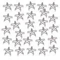 UK 50 x Star Studs Claw Rivet - Leather Crafts Costumes Bags Jeans Belts shoes accessories