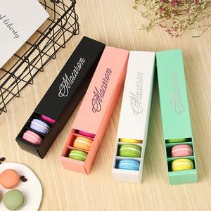 Image 1 - Macaron ambalaj kutusu güzel paketlenmiş düğün pastası depolama bisküvi kağit kutu kek dekorasyon pişirme aksesuarları