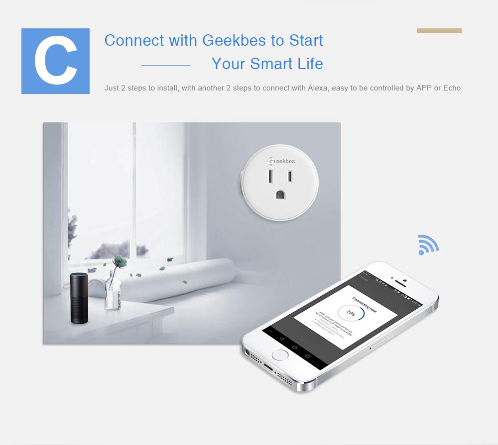 Geekbes Smart Wifi Socket PK Xiaomi Socket (2)