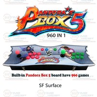 New Arrival Pandora Box 5 Box 2 Player Family TV Fighting Game Joystick With 4 Cores