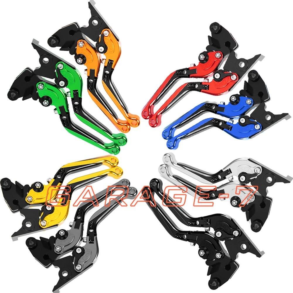 ФОТО For Honda CBR 600 F2,F3,F4,F4i 1991-2007 Foldable Extendable Brake Clutch Levers Aluminum Alloy High Quality Folding&Extending