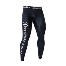 Mens Compression Quick dry Skinny Pants Man Gyms Fitness Workout Bodybuilding Trousers Male Joggers Crossfit Sportswear Bottoms