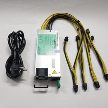 Power-Supply Dash-Miners BTC LTC From-Yunhui for Low-Noise 1100w 12V Output. Including