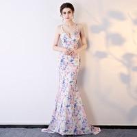 Для женщин платья 2018 Sexy Bodycon Вечеринка элегантные Клубные цветочный Винтаж длинное платье женские Свадебные Цветочный Костюмы для косплея