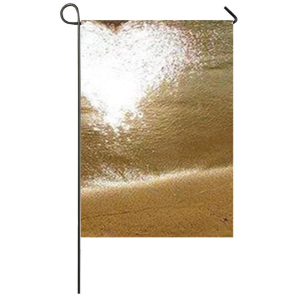 Sea Sunset Wave Beach Sand Love Garden flag Seasonal Flags for ...