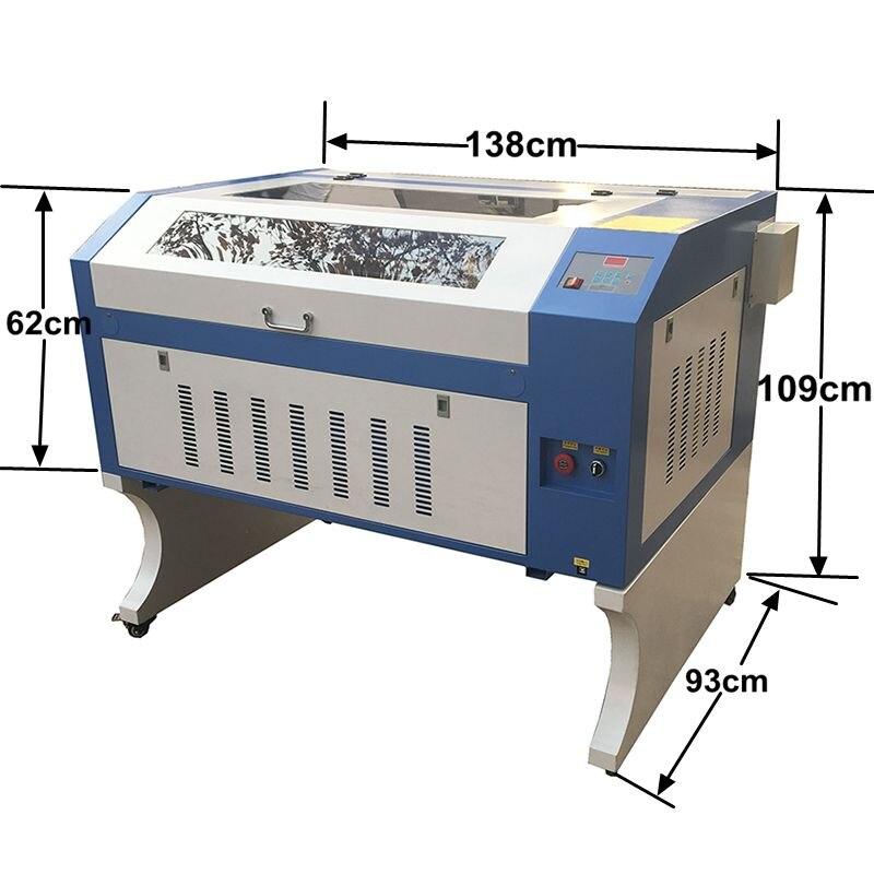 China JIN ZHI YIN 9060 6090 600 X 900 Mm Co2 Laser Engraving Machine With 60/80/90W Reci/ 100w