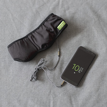 Sleepace Slaap Hoofdtelefoon, Comfortabele Wasbare Oogmasker met Geluid blokkeren/Noise Cancelling Oortelefoon Smart App afstandsbediening