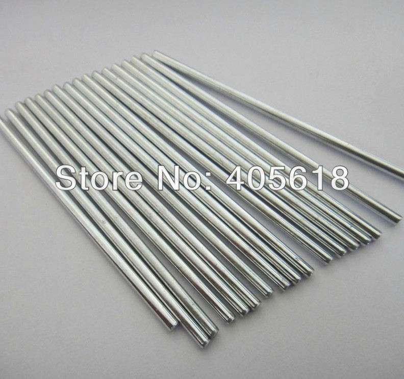 10pcs stainless steel bars 2MM DIA length 300mm DIY Toys car axle coupling connecting shaft image