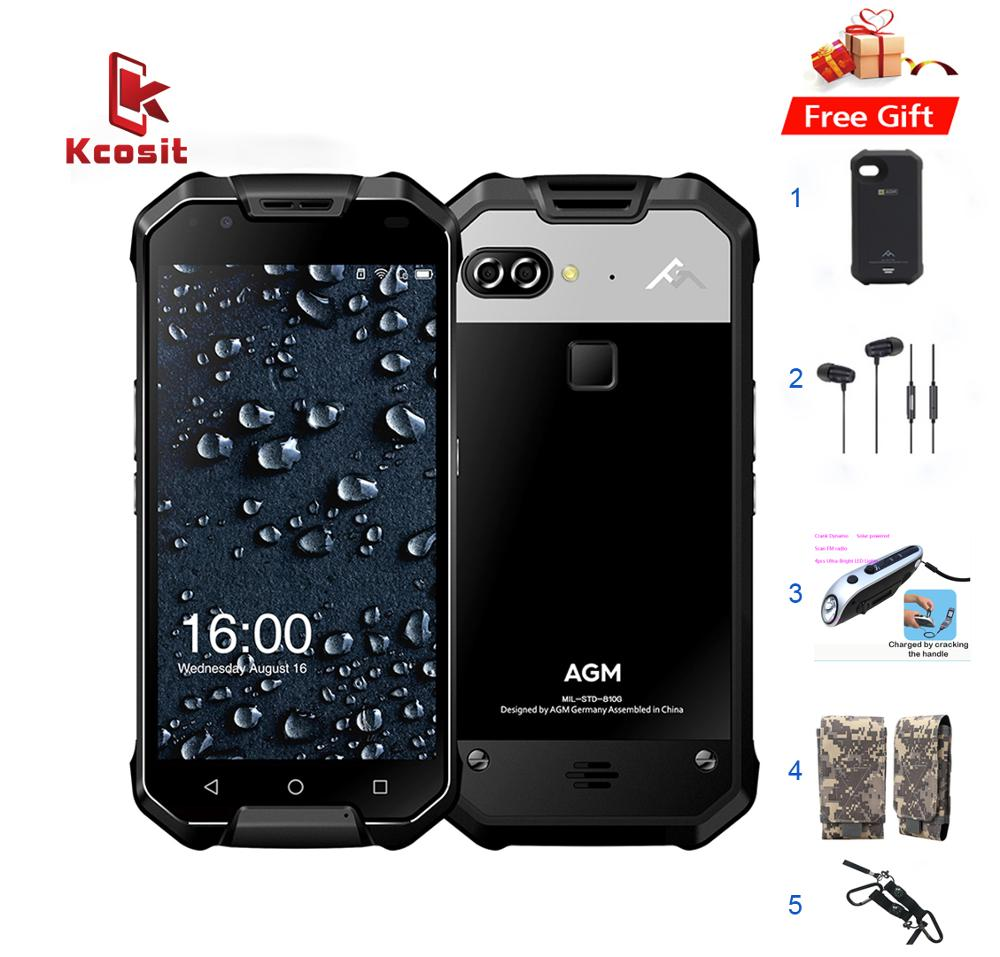 Original AGM X2 IP68 robusto impermeable teléfono Android 7.1 5.5