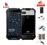 Original AGM X2 IP68 Rugged Waterproof Phone Android 7.1 5.5FHD 6GB RAM 64GB ROM MSM8976SG Octa Core Dual Camera 12MP 6000mAh