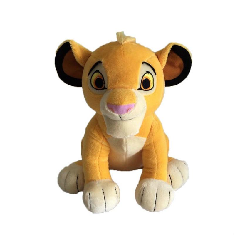 c1a81746e1a 30cm Simulation The Lion King Plush Toys Stuffed Simba Lion Animal Plush  Amine Cartoon Movie Simba