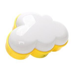 Image 2 - Woodpow kreatywna chmura kontrola czujnika światła LED noc gniazdo elektryczne lampka nocna dzieci lampka nocna do sypialni ue/usa wtyczka LED Light