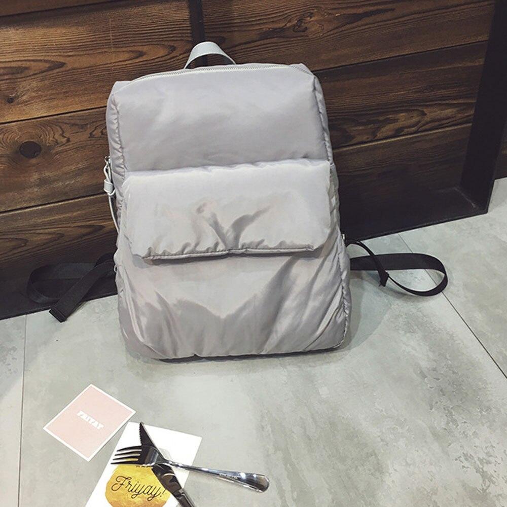 ФОТО Minimalist Style Women Backpack Female Casual Bag for Travel Shopping School