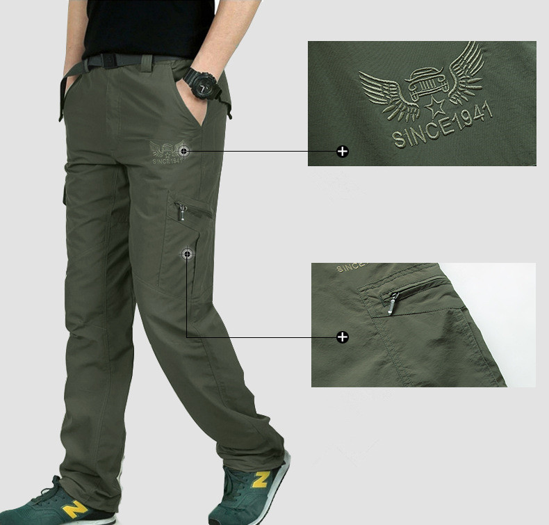 HTB1jiaCkHZnBKNjSZFGq6zt3FXag Breathable lightweight Waterproof Quick Dry Casual Pants Men Summer Army Military Style Trousers Men's Tactical Cargo Pants Male