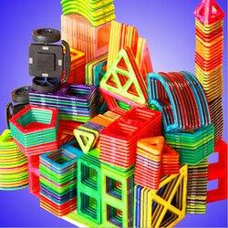 1 pçs tamanho padrão magnético blocos de construção 24 tipos diferentes crianças brinquedos educativos plástico diy blocos brinquedos
