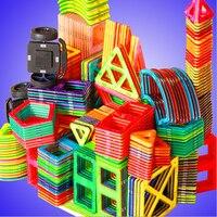 1pcs Big Size Magnetic Designer Toy Kids Educational Toys Plastic Creative Bricks Enlighten Magnetic Building Blocks