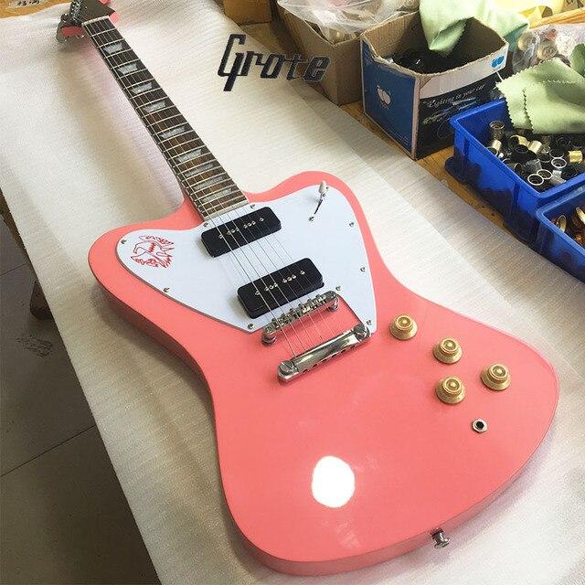 Pink Classic 2018 Factory Custom Firebird Electric Guitar Sun