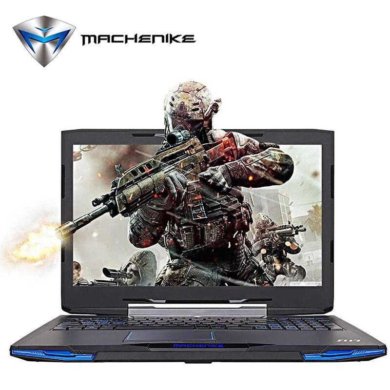 Machenike F117 F2U Laptop Intel Core i7 7700HQ 15 6 1080P Aluminum Metal Gaming Notebook GTX1050