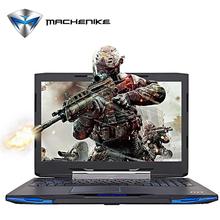 "Machenike F117-F2u Intel Core i7-7700HQ Laptop 15.6"" Aluminum Metal Gaming Notebook GTX1050 4GB GDDR5 HDD 1TB RAM 8GB 1080P"