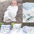 New Soft Muslin Cotton Newborn Baby Swaddle Blanket Bath Towel Nursery Bedding