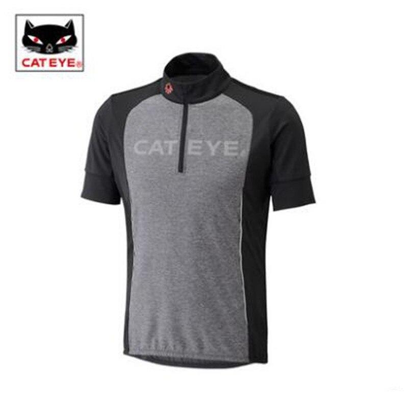 Cycling Jerseys CATEYE bike wear short sleeved choker shirt in summer t-shirt men and women fast dry air bicycle equipment