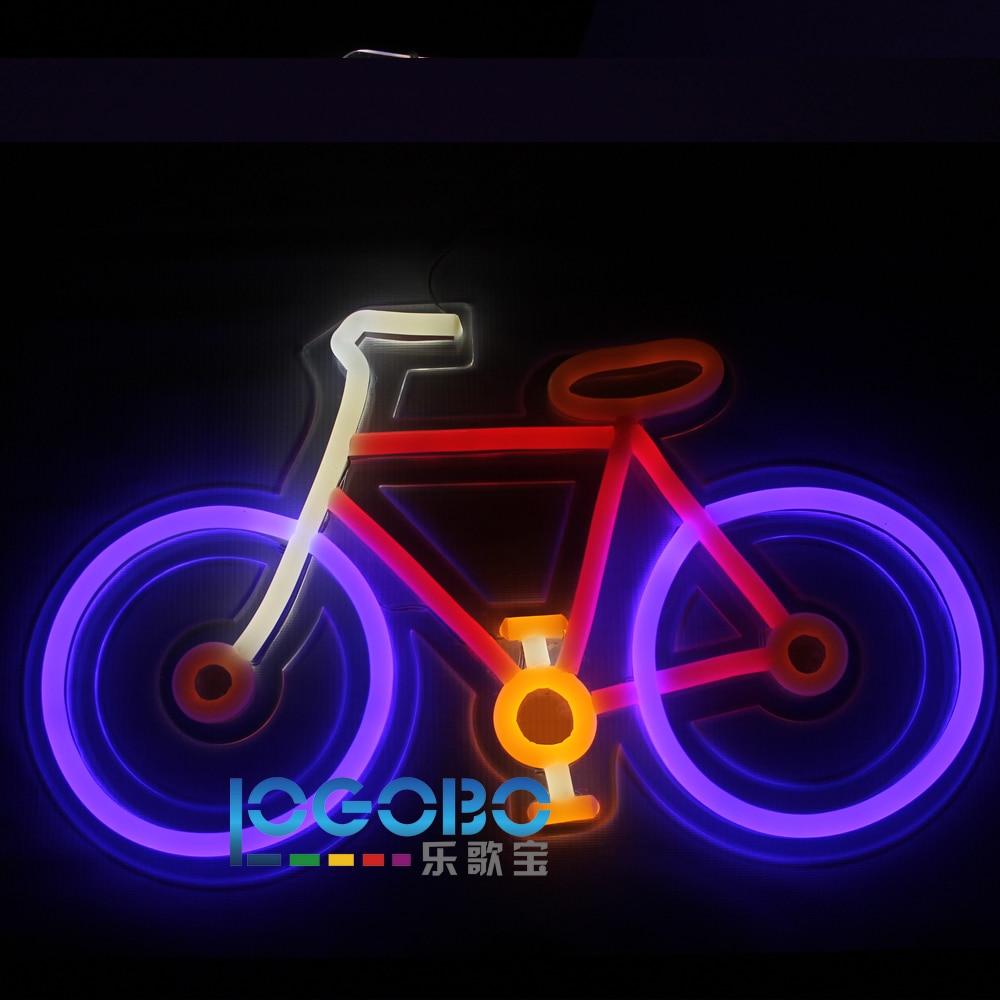 Առաջնորդված Neon Sign հեծանիվ ձեռքի - Կոմերցիոն լուսավորություն - Լուսանկար 5